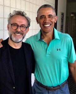 Массимо Буттура и Барак Обама
