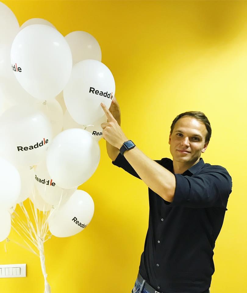 Вице-президент по маркетингу Readdle Денис Жаданов