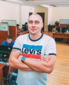 Василий Иванов в офисе KeepSolid