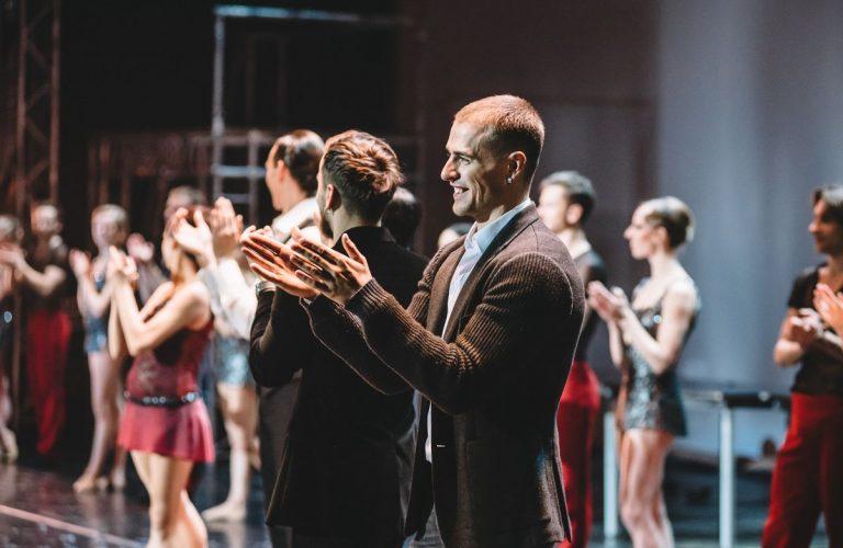 Александр Полевой во время спектакля The Great Gatsby Ballet
