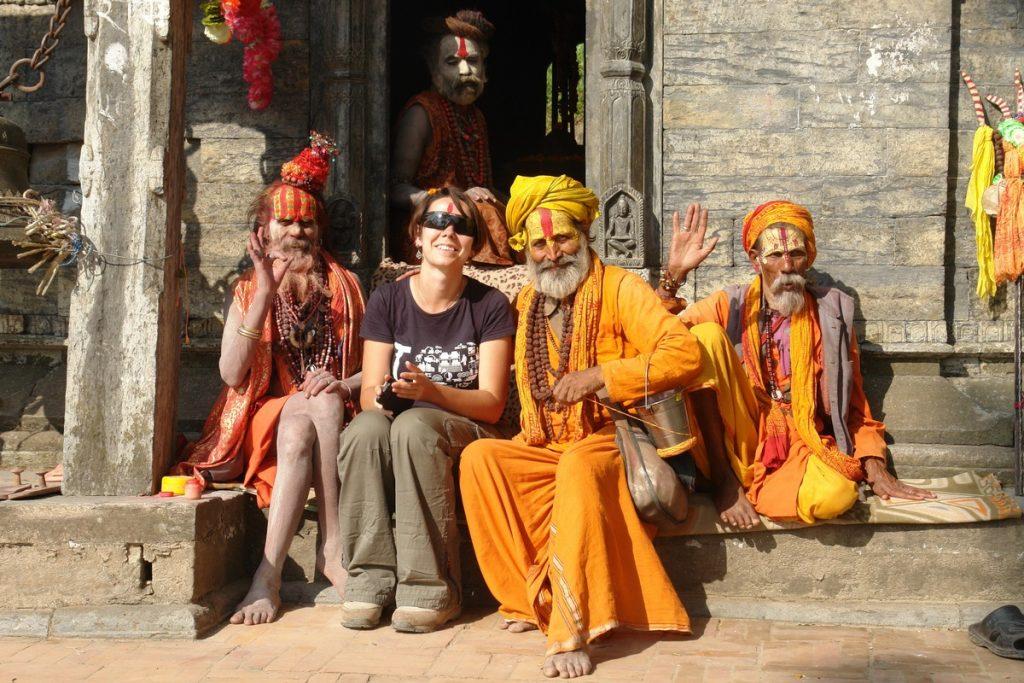 Катерина Венжик в Непале