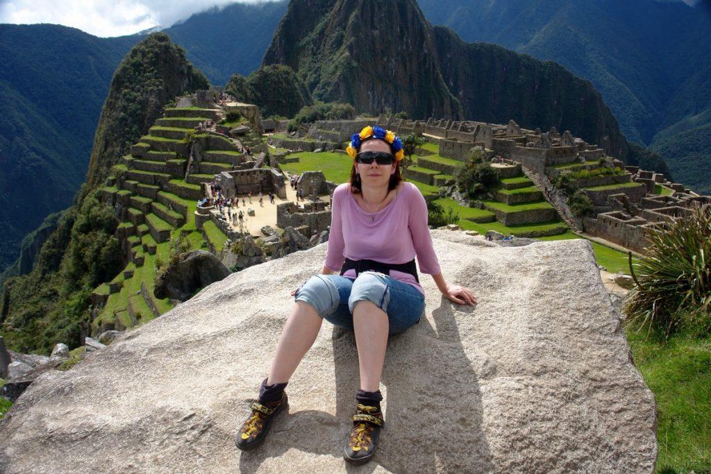 Катерина Венжик в Перу
