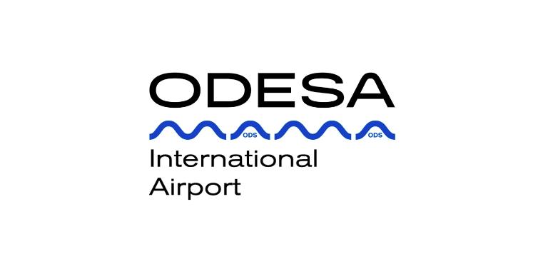 новый логотип Одесского аэропорта