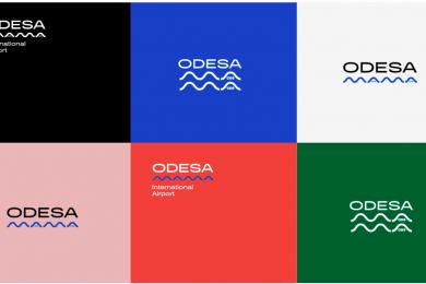 новое лого Одесского аэропорта