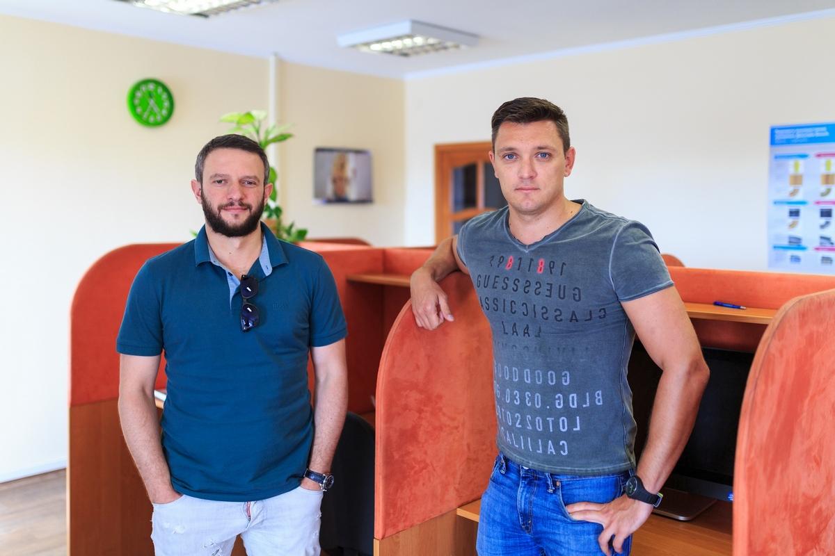Основатели DOK.ua Владимир Сорочан и Андрей Дашкевич