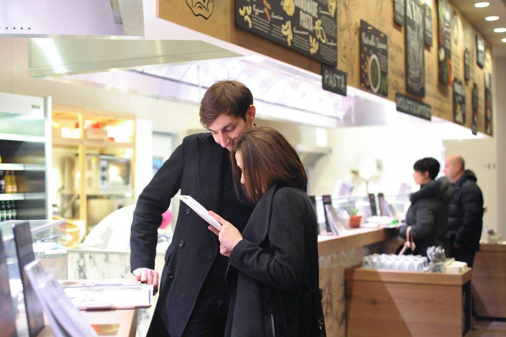 В день украинские рестораны Vapiano посещают 500-600 человек