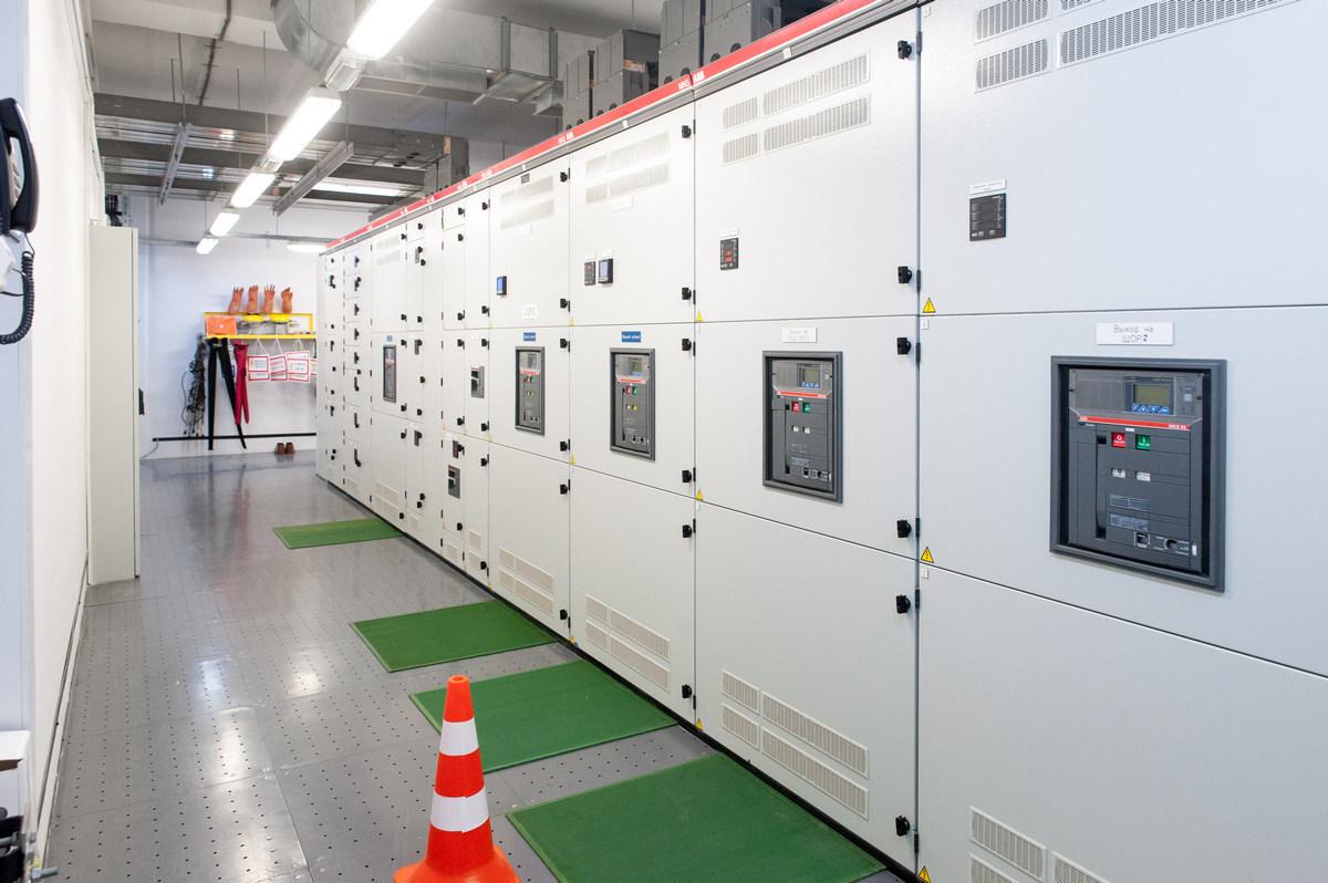 Оборудование в дата-центре De Novo