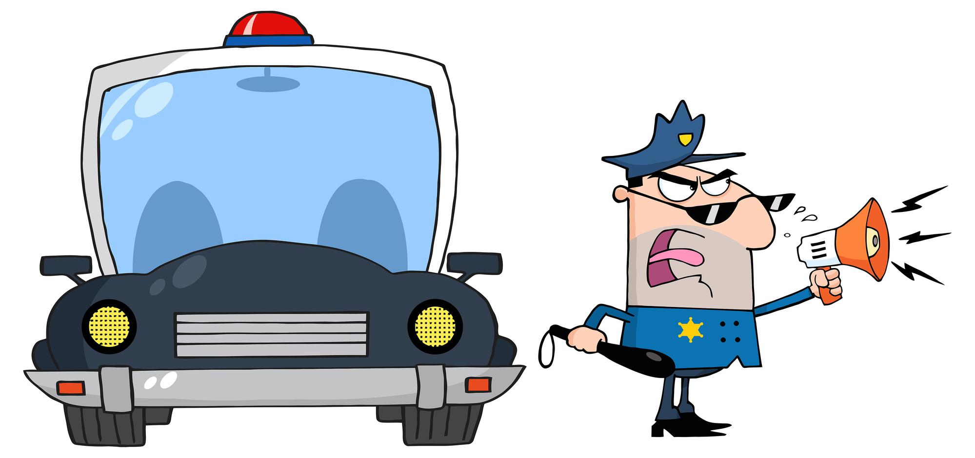 На вас надели наручники, задержали и лишили прав. Как защитить себя от инспектора-вымогателя