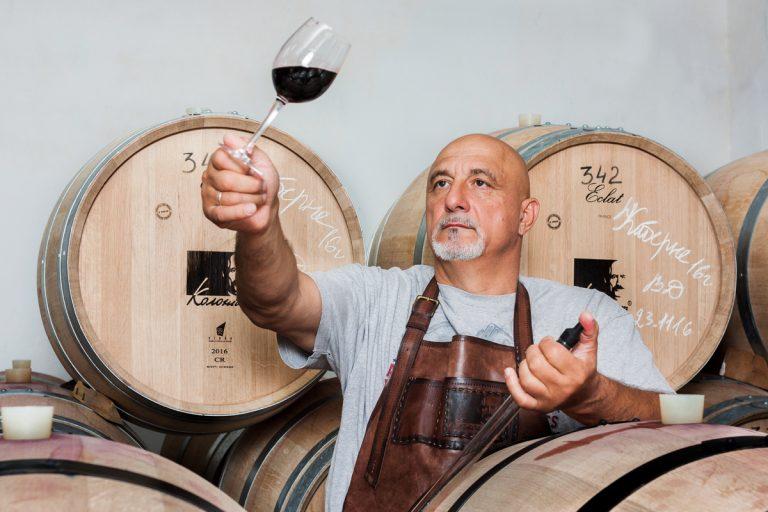 Иван Плачков, основатель винодельни «Колонист»