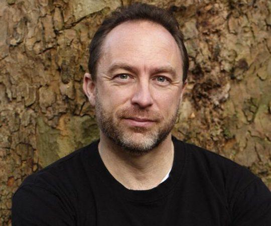 Джимми Уэйлс, Wikipedia