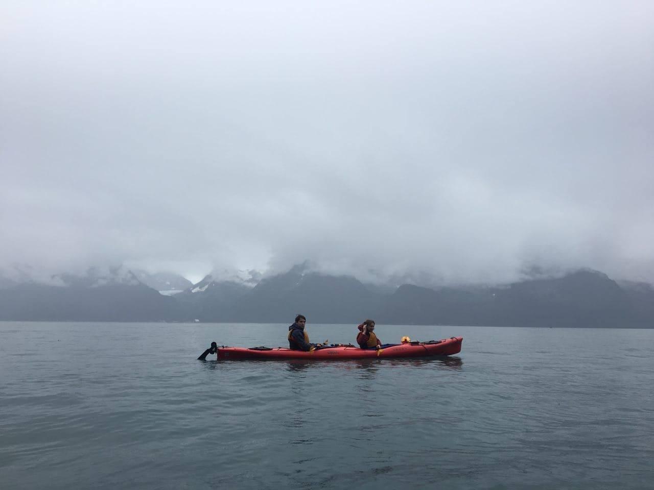 Виктор Радченко на Аляске