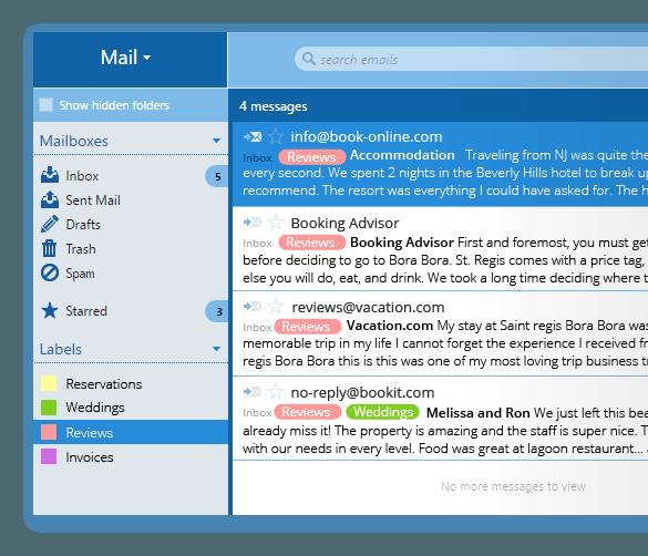 Сервис Inbox