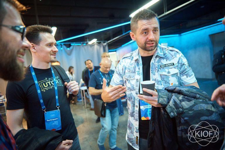 Давид Браун на Kyiv IT Outsourcing Forum