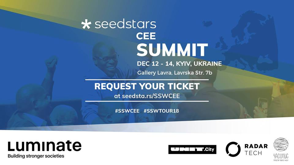 Seedstar CEE Regional Summit 2018