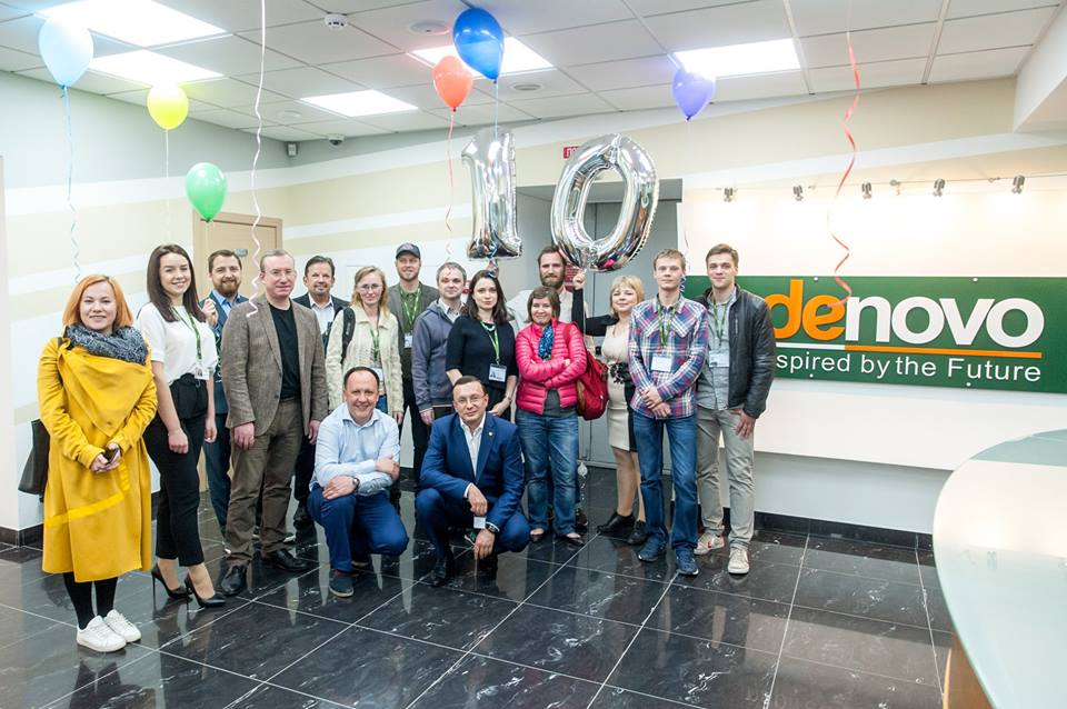 В апреле компания De Novo отпраздновала 10-летие