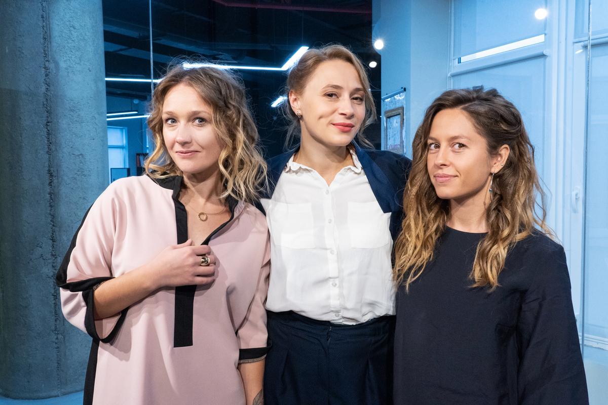 Валерия Ионан, Ольга Роенко и Надежда Табанюк