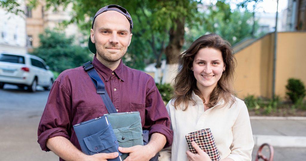 Павло та Ірина Суслякови