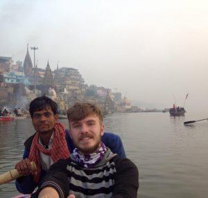 Владимир Карышев в Индии