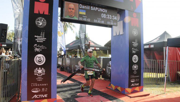 Даниил Сапунов, победа на Ironman Malaysia 2018