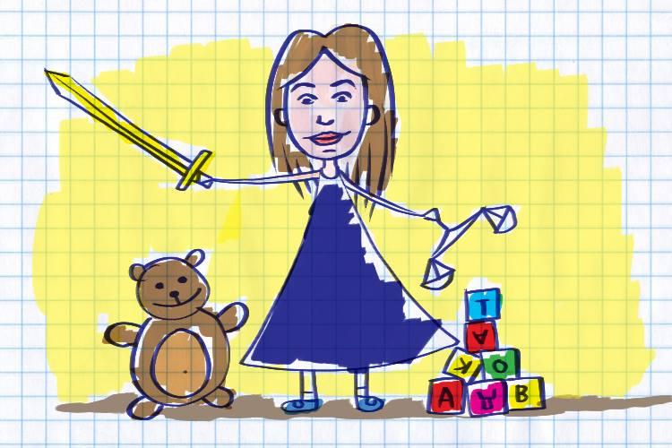 Детская мечта Ксении Проконовой. Иллюстрация Александра Шатова