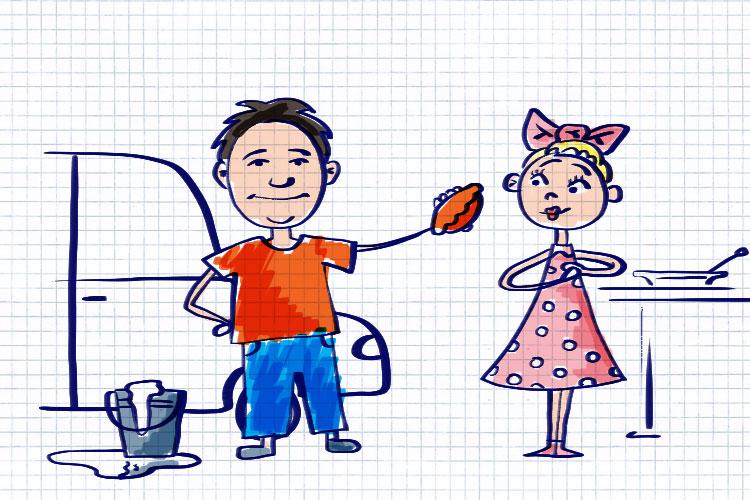 Детская мечта Максима Бахматова. Иллюстрация Александра Шатова