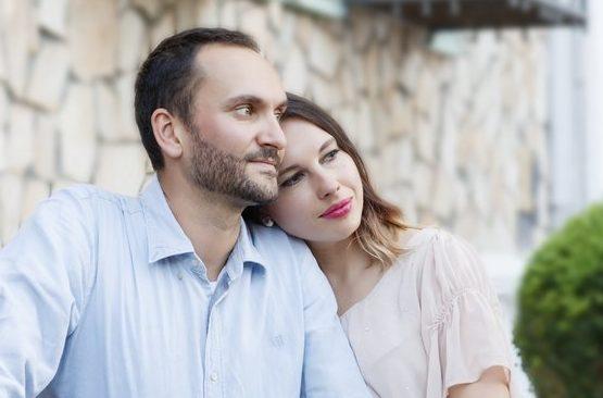 Ася Кучина и муж