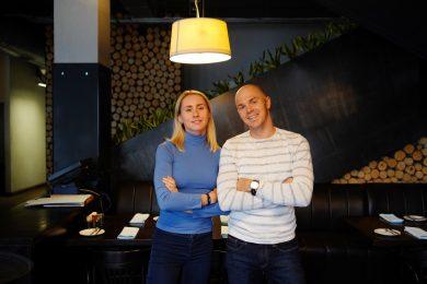 Анастасия Черненко и Даниил Сапунов