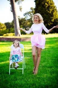 Лилия Ребрик и дочь Диана для бренда #LOVEfp