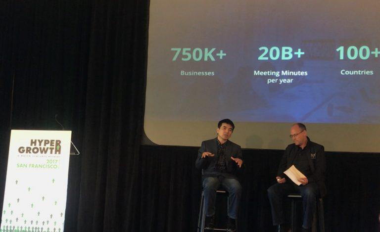 Ерік Юань, засновник Zoom, на мітапі від Maven Ventures в Golden Gate клубі