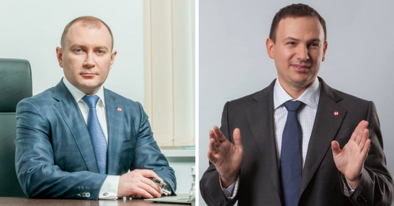 Вячеслав Климов и Владимир Поперешнюк