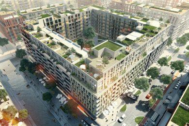 Проект жилого района Rybalsky