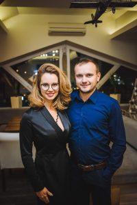 Виталий Дячук вместе с женой Натальей