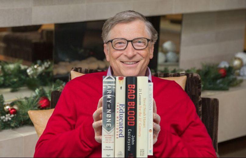 На полку предпринимателя. Пять лучших книг года от Билла Гейтса