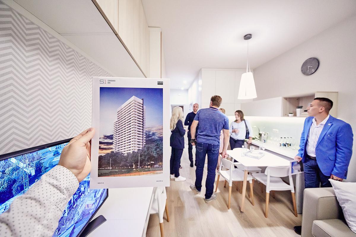 Квартиры в Standard One готовы к заселению