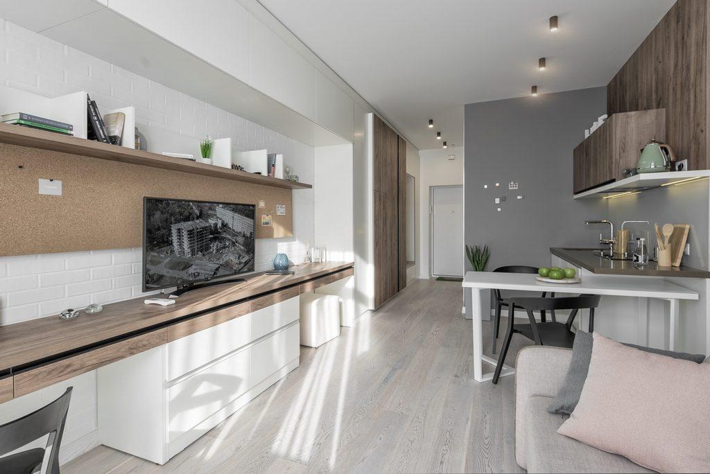 В жилом комплексе будут квартиры с дизайном четырех видов