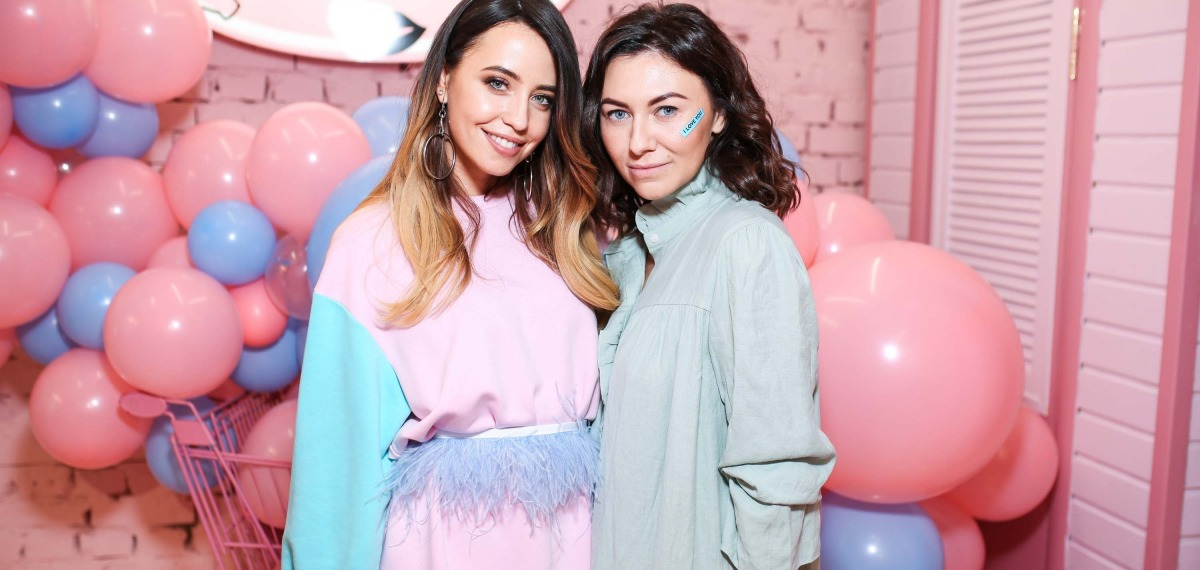 Надя Дорофеева и Лера Бородина