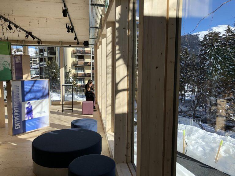 Ukraine House Davos