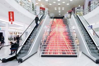 Хакеры вывели свастику на экран в киевском торговом центре. Об этом написали израильские СМИ