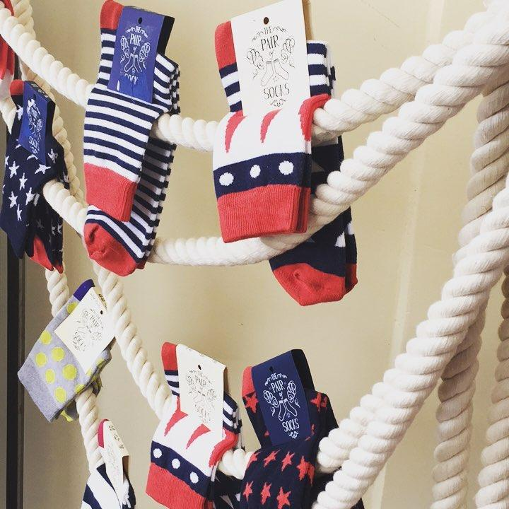The pair of socks