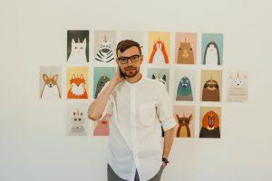 Александр Грехов - художник-иллюстратор, автор скандальной выставки «Квантовый скачок Шевченко. Метро»