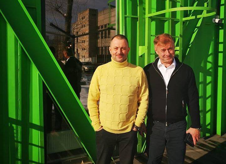Максим Бахматов и Адам Вояцкий