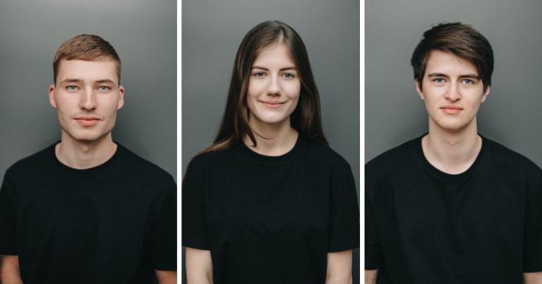 Никита Владыкин, Катя Михалко, Евгений Шило, 17-20 лет