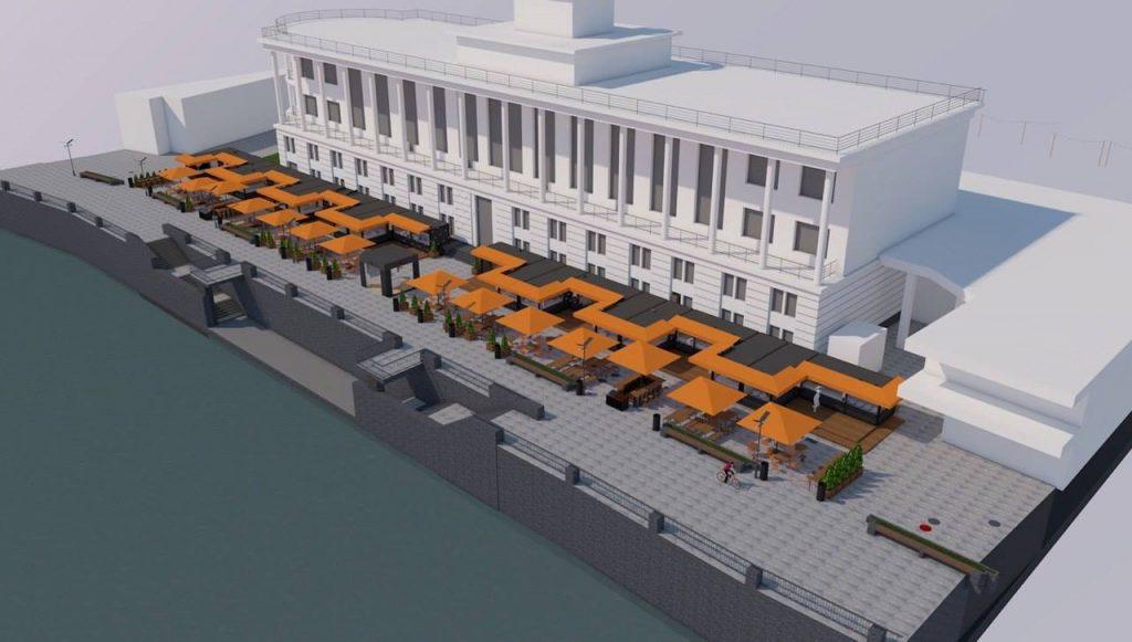 Проект «БУХТА Food Station»