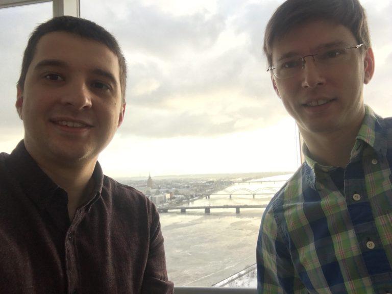 Олег Гордийчук и Валерий Чекалкин