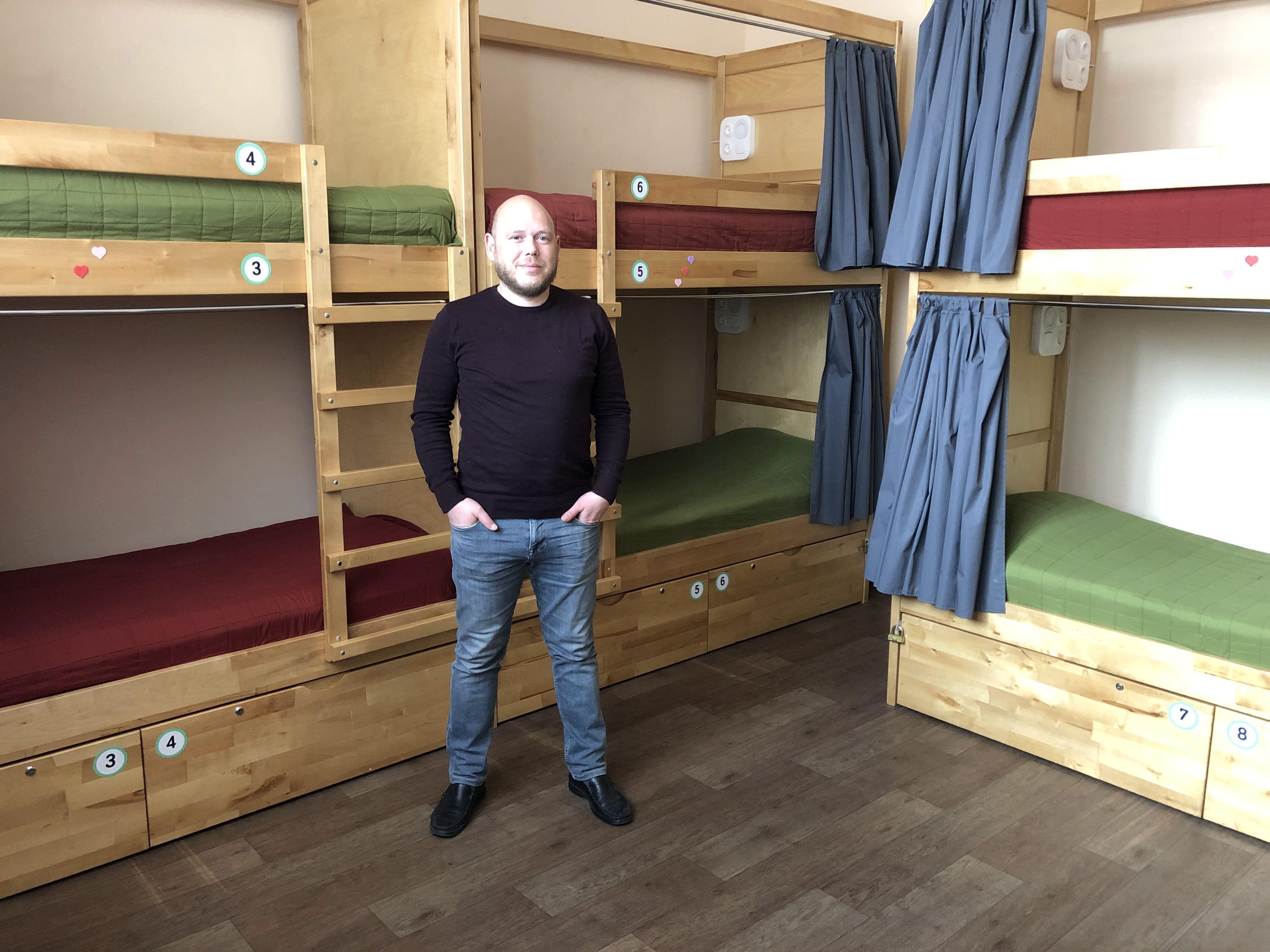 Владимир Колесник, совладелец хостела Dream Hostel в Запорожье