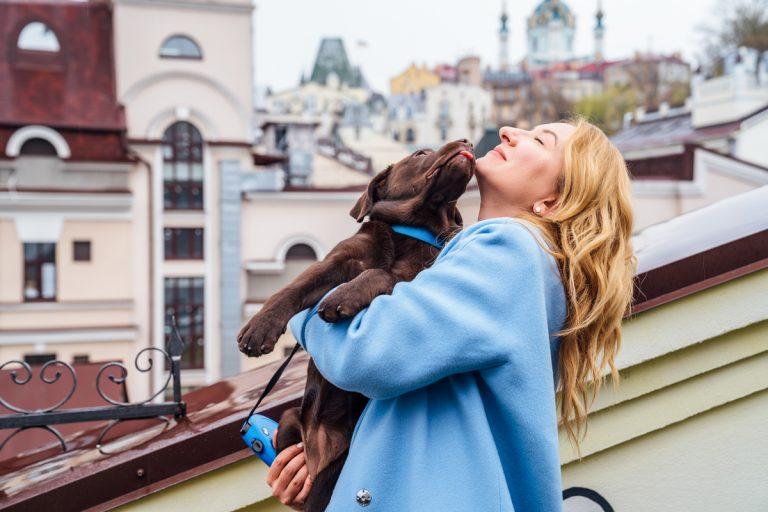 Наталия Морозова с Уммой