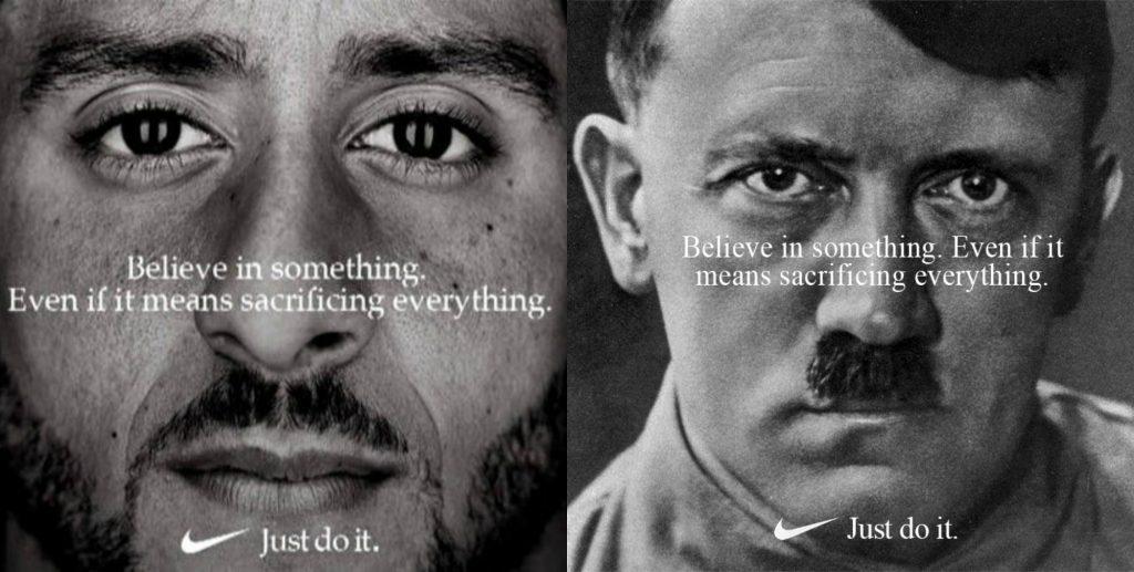 Сравнение Колина Каперника и Адольфа Гитлера