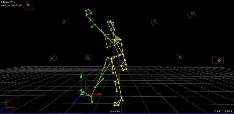 Датчики считывают траекторию движения и передают на компьютер