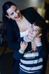 Алена Жупикова с сыном