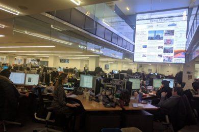 Офис The Wall Street Journal. Фото: Тимур Ворона